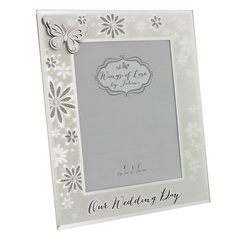 Wings Of Love Butterfly Photo Frame Wedding Day 6X8