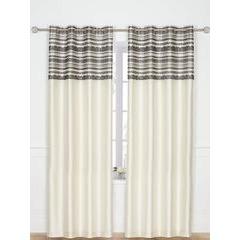 Chantilly Eyelet Curtains 165x182cm