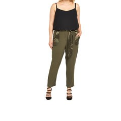 V By Very Satin Pocket Tapered Trousers