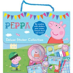 Peppa Pig Deluxe Sticker Collection