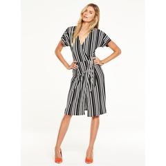 V By Very Stripe Tea Dress