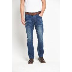 Goodsouls Belted Slim Fit Jeans