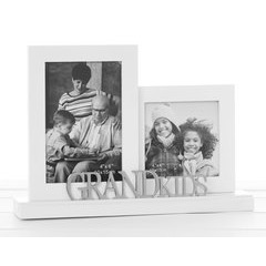 Double Grandkids Photo Frame