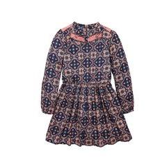 V By Very Lace Panel Fluted Sleeve Boho Dress