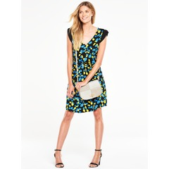 V By Very Petal Sleeve Jersey Tea Dress
