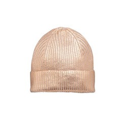 V By Very Metallic Beanie Hat