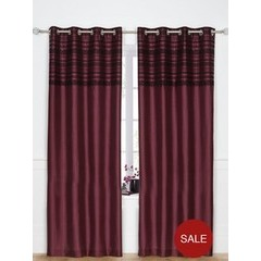 Chantilly Eyelet Curtains 116x182cm