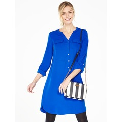 V By Very Long Sleeved Shirt Dress