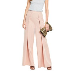 V By Very Pleated Wide Leg Trousers