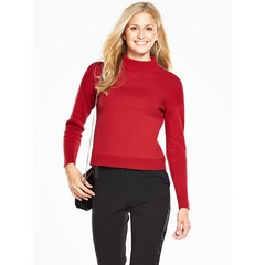 V by Very Ribbed Funnel Neck Jumper