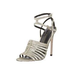 Little Mistress Glitter Sandals