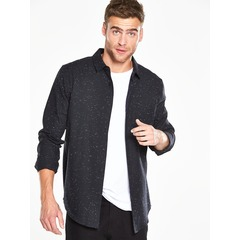 V by Very Long Sleeved Nepp Shirt