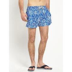 Goodsouls Hawaiian Print Swim Shorts
