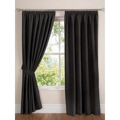 Faux Suede Lined Curtains