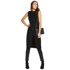 V By Very Sleeveless Long Split Front Tunic