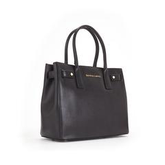 Smith And Canova Leather Tote Bag