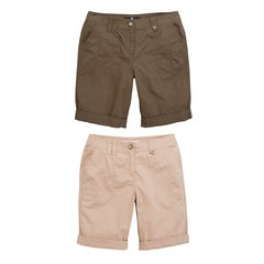 V By Very 2 Pack of Longer Shorts