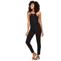 V By Very Petite Square Neck Jersey Jumpsuit
