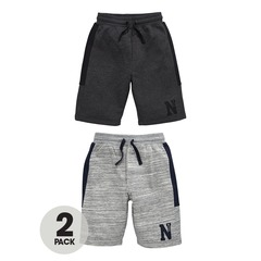 V By Very Pack of 2 Side Panel Shorts