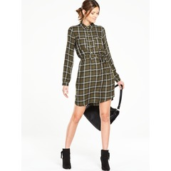 Oasis Check Shirt dress