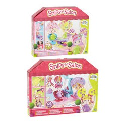 Cool Create Snips Salon Glitter Glam Playset and Crimping Style Set Duo Pack
