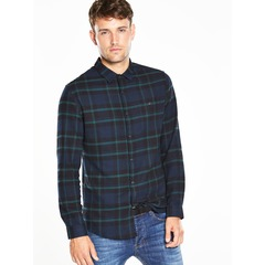 V by Very Long Sleeved Check Shirt