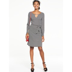 V By Very Keyhole Neck Tea Dress