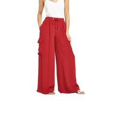 V By Very Wide Leg Cargo Palazzo Trousers