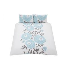 Modern Floral Duvet & Pillowcase Set- Single