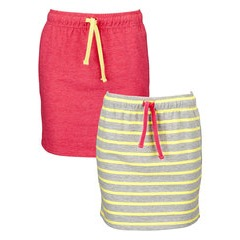 Freespirit Pack of Two Girls Everyday Essentials Skirts