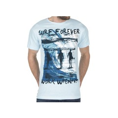 Cargo Bar Surfer Print T-shirt