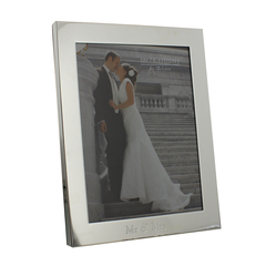 Mr & Mrs Engraved Photo Frame - 8x10