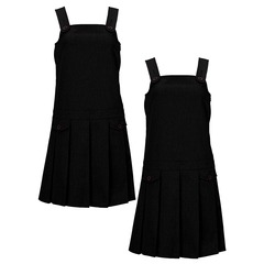 Top Class Girls Pack Of Two Kilt Pinafores