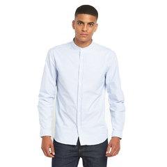 Suit Oxford Stripe Mandarin Shirt