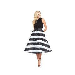 Coast Full Striped Skirt