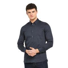 Ted Baker Long Sleeved Geo Print Shirt