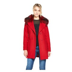 V By Very A Line Double Breasted Coat