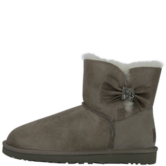 UGG Mini Bailey Bow Crystal Boots
