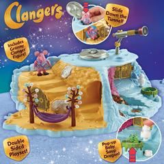 Clangers Home Planet Playset With 1 Figure
