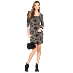 Wallis Geo Sparkle Dress