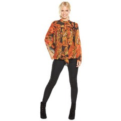 V By Very Pleated High Neck Blouse