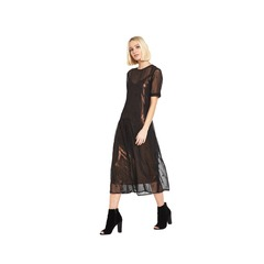 Warehouse Star Embroidered Dress