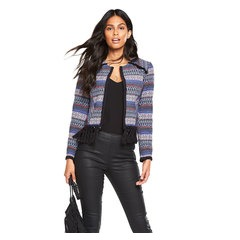 V By Very Fringed Jacquard Jacket