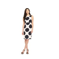 V By Very Double Layered Spot Bodycon Dress