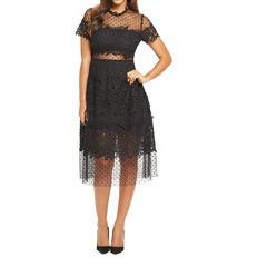 Very Spot Mesh Midi Dress