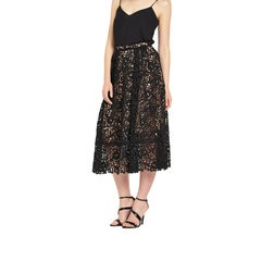 Warehouse Lace Prom Skirt