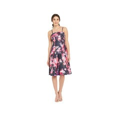 V By Very Bandeau Panel Floral Prom Dress