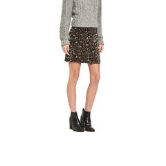 Miss Selfridge Brushed Animal Skirt