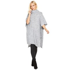 V By Very Cable Knit Poncho