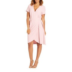 Very Wrap Front Dress